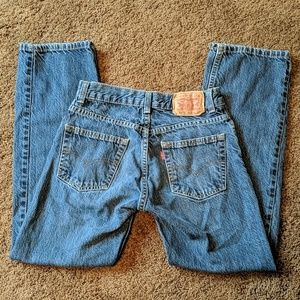 Excellent pair of Levi's 505 Straight fit jeans!!